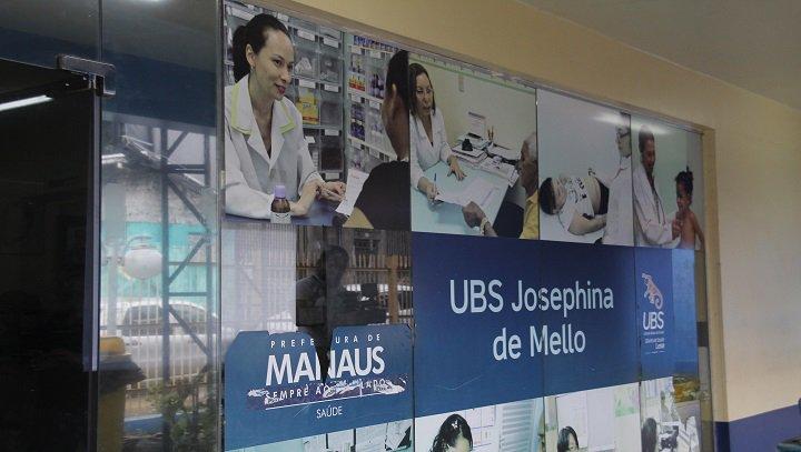 Manaus 30.05.019. Assalto na UBS.Josefina de Melo.rFoto Marinho Ramos. Secom